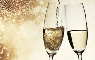 New Years Eve Champagne Photo