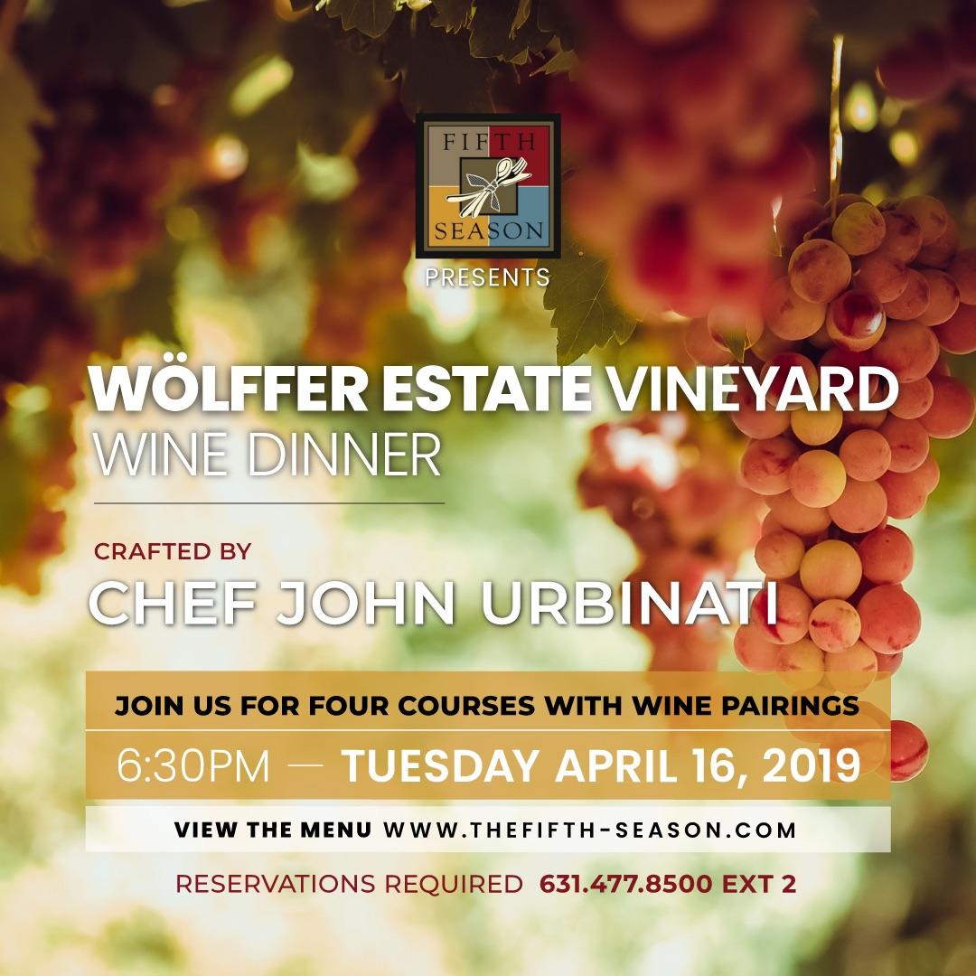Wölffer Estate Vineyard Wine Dinner Image