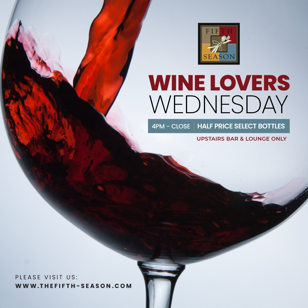 Wine Lovers Wednesday Graphic