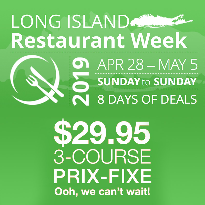 Long Island Restaurant Week 2019 Spring Info