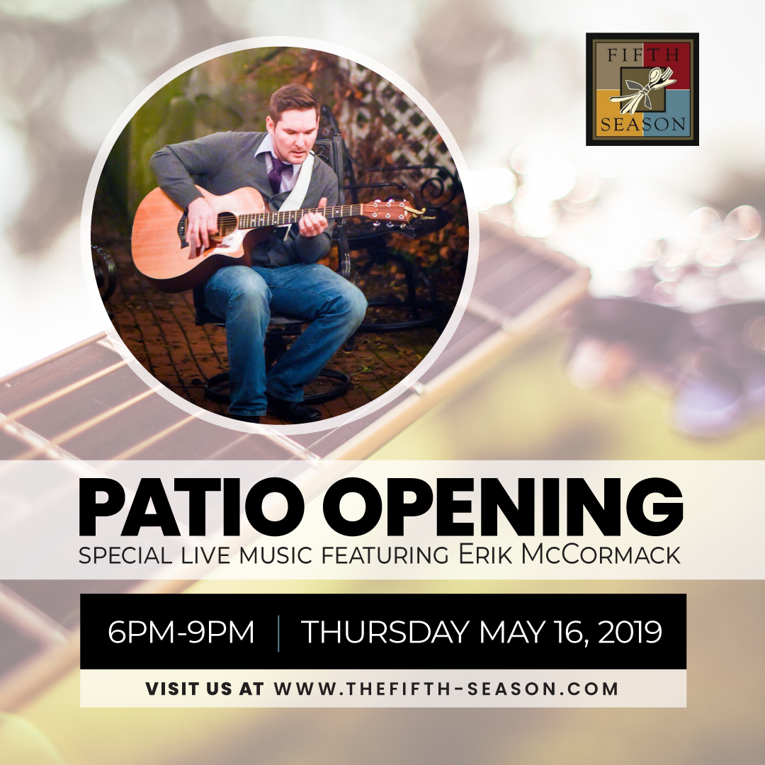 Patio Opening With Live Music Image