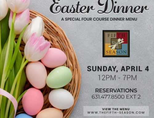 Easter Dine-In & Curbside Pickup Menus 2021