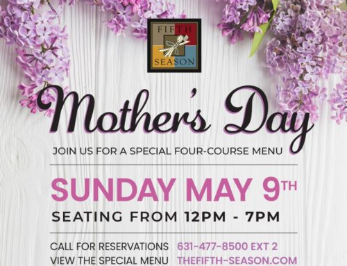 Mother's Day Dine-In & Curbside Pickup Menus 2021